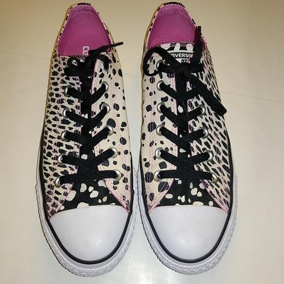 58830ba1e42c Converse Shoes - Converse animal print sneakers size 10